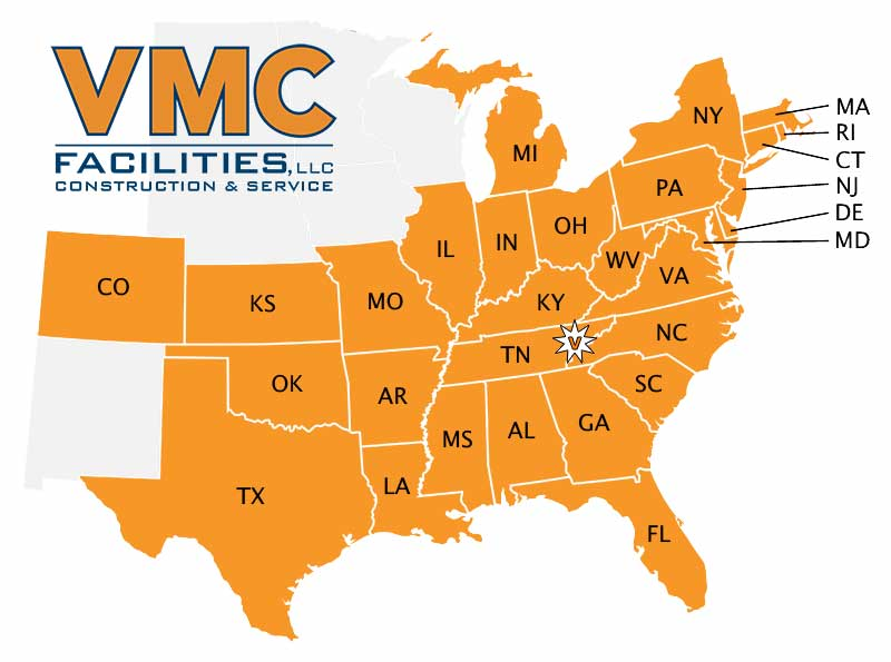 VMC Coverage US Map